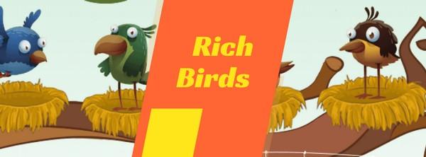 Браузерная игра Rich Birds для заработка