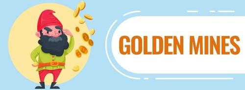 Онлайн игра для заработка Golden Mines на Айфон