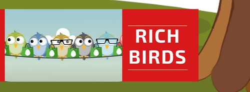 Rich Birds онлайн игра для заработка на Айфон